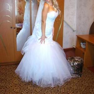 Продам свадебное платье.дешево